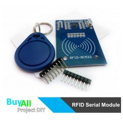 RFID SERIAL MODULE + TAGS