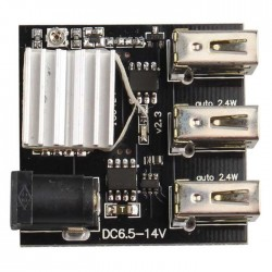 USB POWER 3PORT MODULE DC5.6-14V to 5V 8A