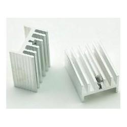 HEATSINK ALUMINIUM 20x15x10mm TO-220