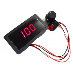 SPEED CONTRL DC MOTOR PWM 6-30V MAX 8A DISPLAY+SWITCH